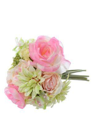 11 gerber rose hydrangea bouquet pinkcream hydrangea silk 11 gerber rose hydrangea bouquet pinkcream hydrangea silk flowers and wedding mightylinksfo