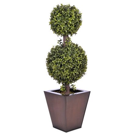 Found it at Wayfair - Artificial Double Ball Topiary in Dark Copper Zinchttp://www.wayfair.com/daily-sales/p/Classic-Bathroom-Updates-Artificial-Double-Ball-Topiary-in-Dark-Copper-Zinc~HSFL1231~E13611.html?refid=SBP.rBAZEVPa70BB0DngWBFgArpjID_yK0yeulmBP4ayhVc
