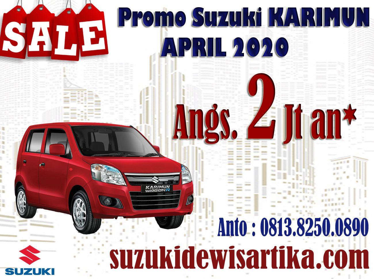Promo Suzuki Karimun Wagon R Bulan April 2020