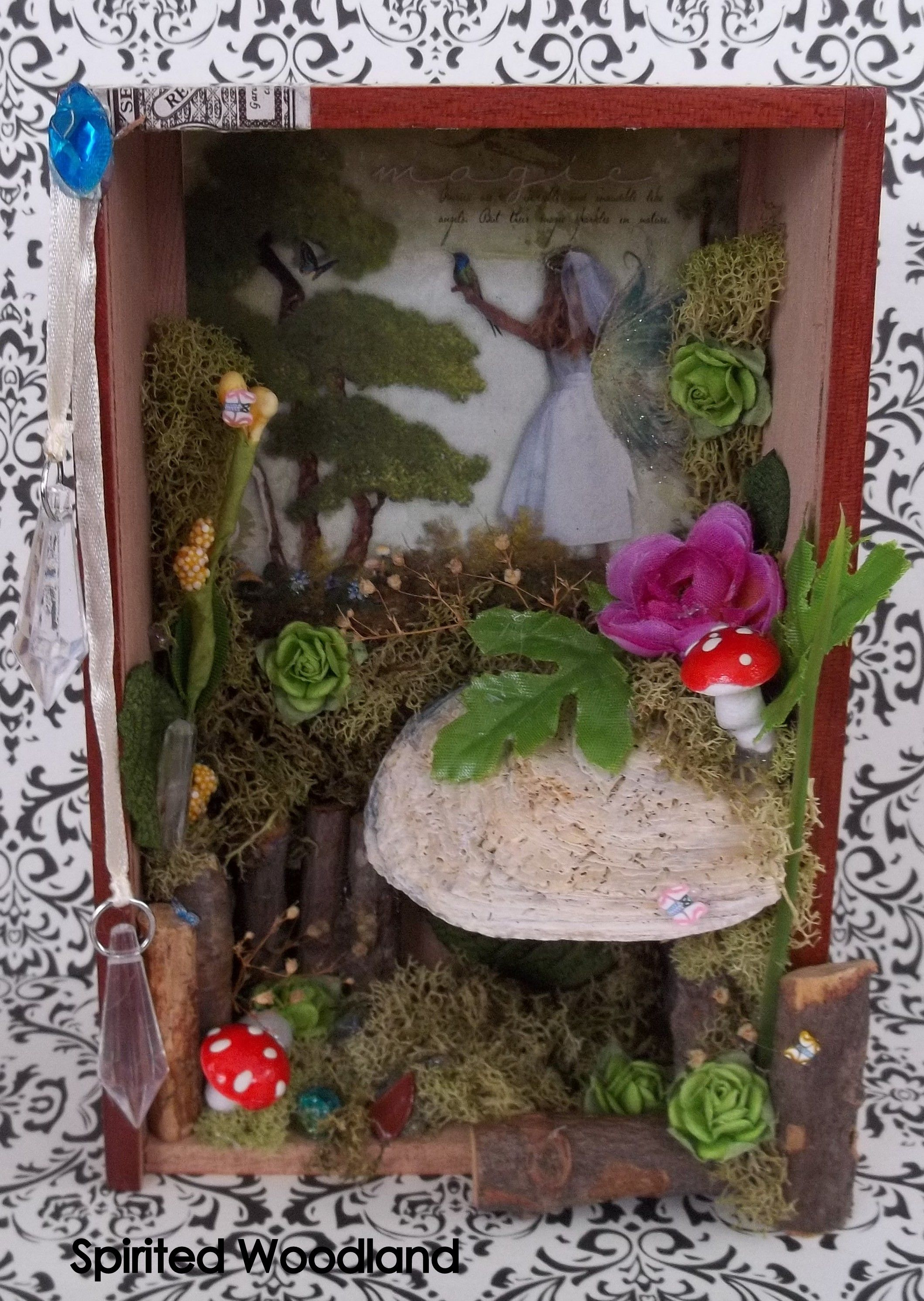 Tattered Treasures: Graphic 45 \'Once Upon a Springtime\' Fairy Garden ...