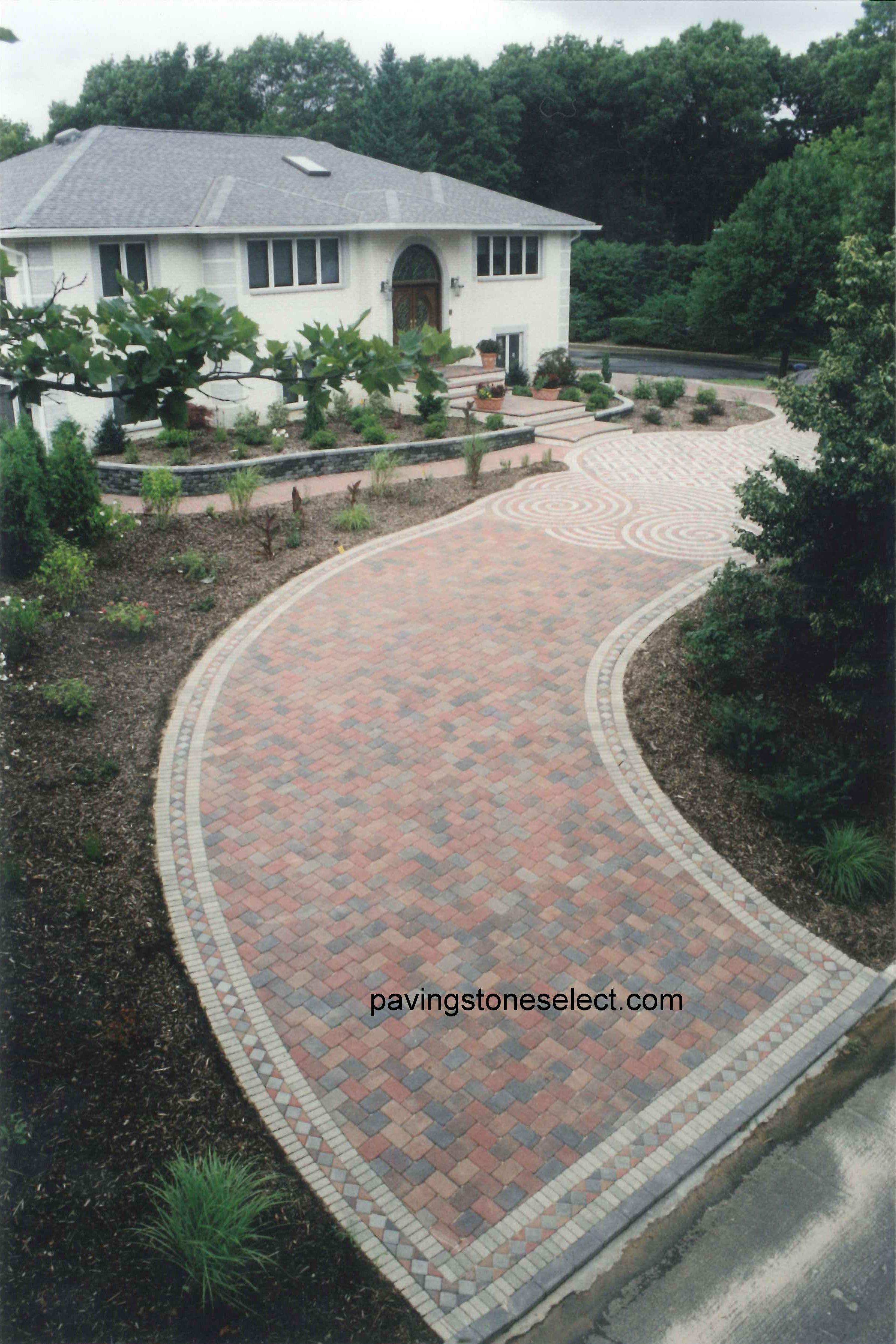 Giuseppe abbrancati 1993 award winning design for Base for concrete driveway