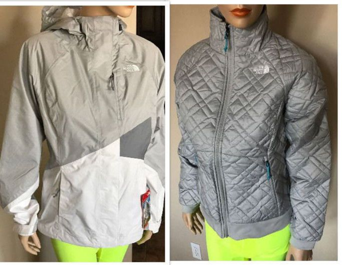 New The North Face Quilted Penny 3 In 1 Triclimate Jacket Size S