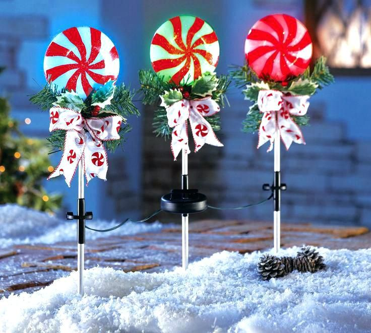 Candy Cane Outdoor Decorations . - Candy Cane Outdoor Decorations Christmas Pinterest