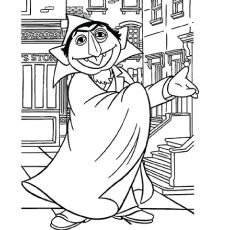 The top 10 sesame street coloring pages