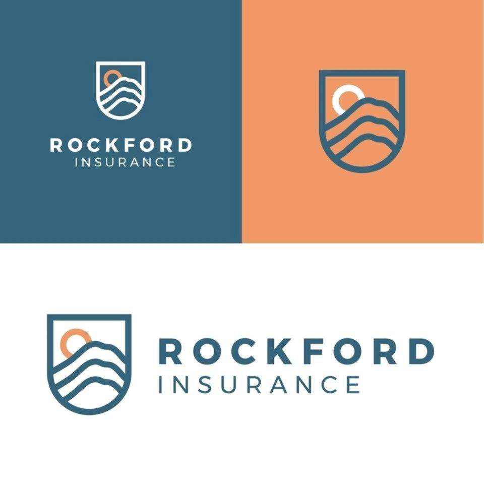 Insurance Logo The Rule Of Thirds Governs The Alignment Of