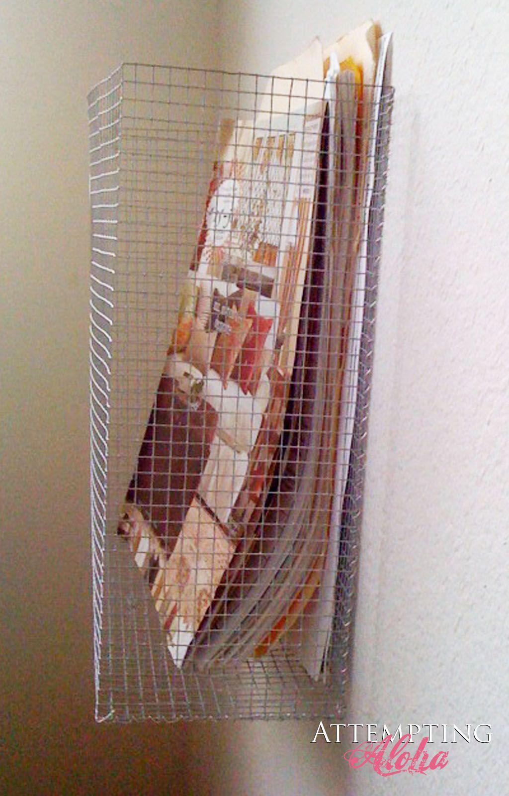 Wire Basket Tutorial | Creative, Tutorials and Craft