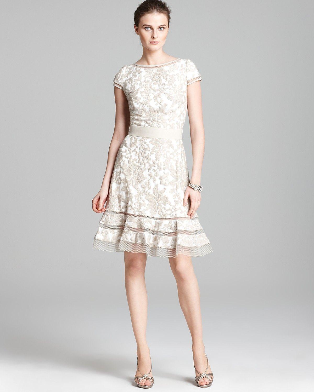 Tadashi Shoji Dress Cap Sleeve Lace Horsewire Women Bloomingdale S Tadashi Shoji Dresses Cap Dress Modest Lace Dress [ 1500 x 1200 Pixel ]