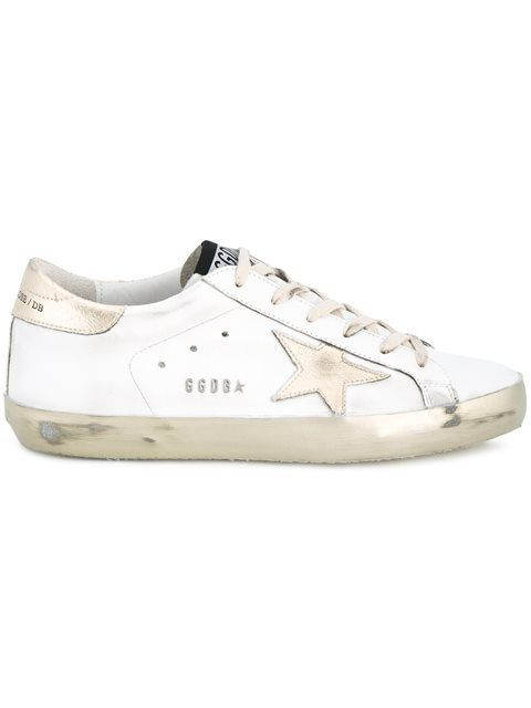 GOLDEN GOOSE 'Super Star' Sneakers. #goldengoose #shoes #sneakers