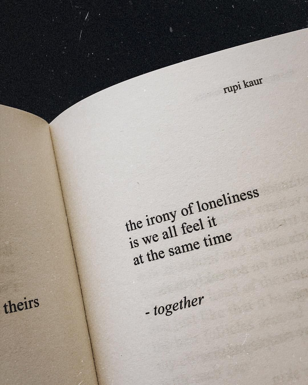 Loneliness #quote ( The Sun