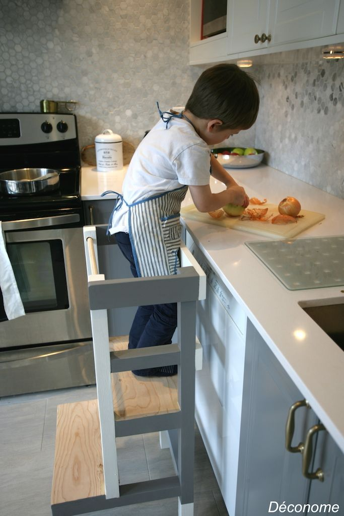 fabriquer un tabouret de cuisine pour enfant diy meuble pinterest tabourets de cuisine. Black Bedroom Furniture Sets. Home Design Ideas