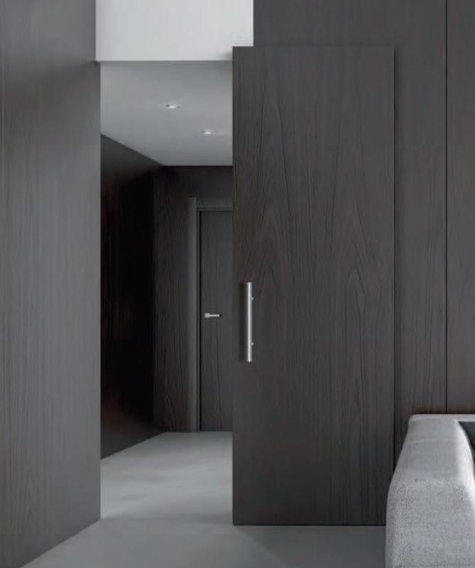 Interior doors sliding barn doors modern interior - Contemporary interior door levers ...