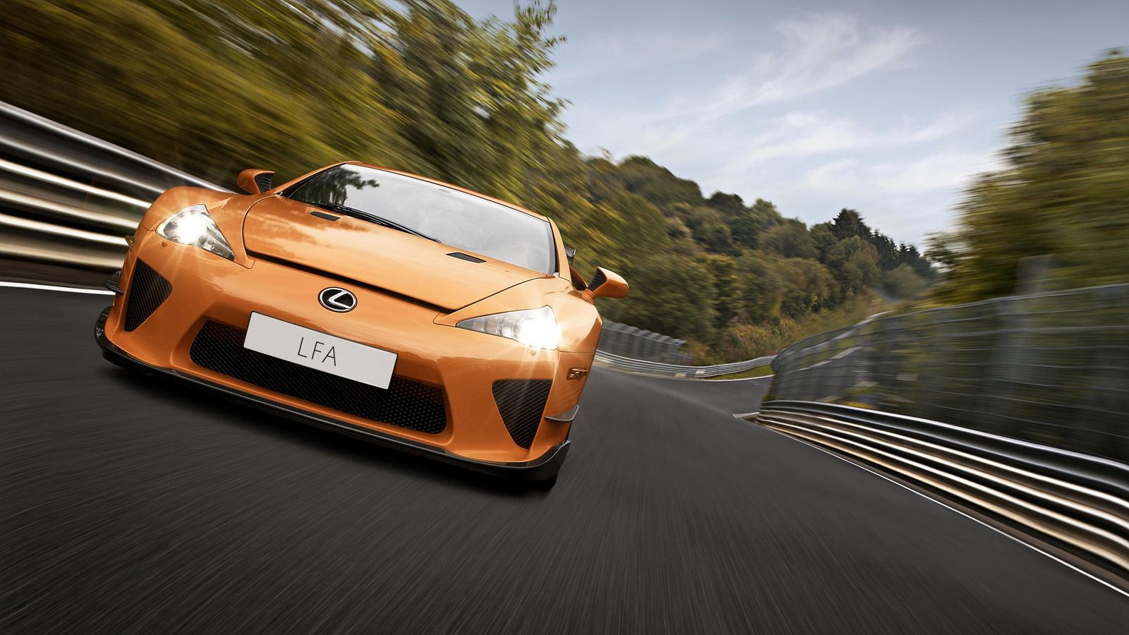 Your Ridiculously Cool Nurburgring Edition Lexus Lfa Wallpaper Is