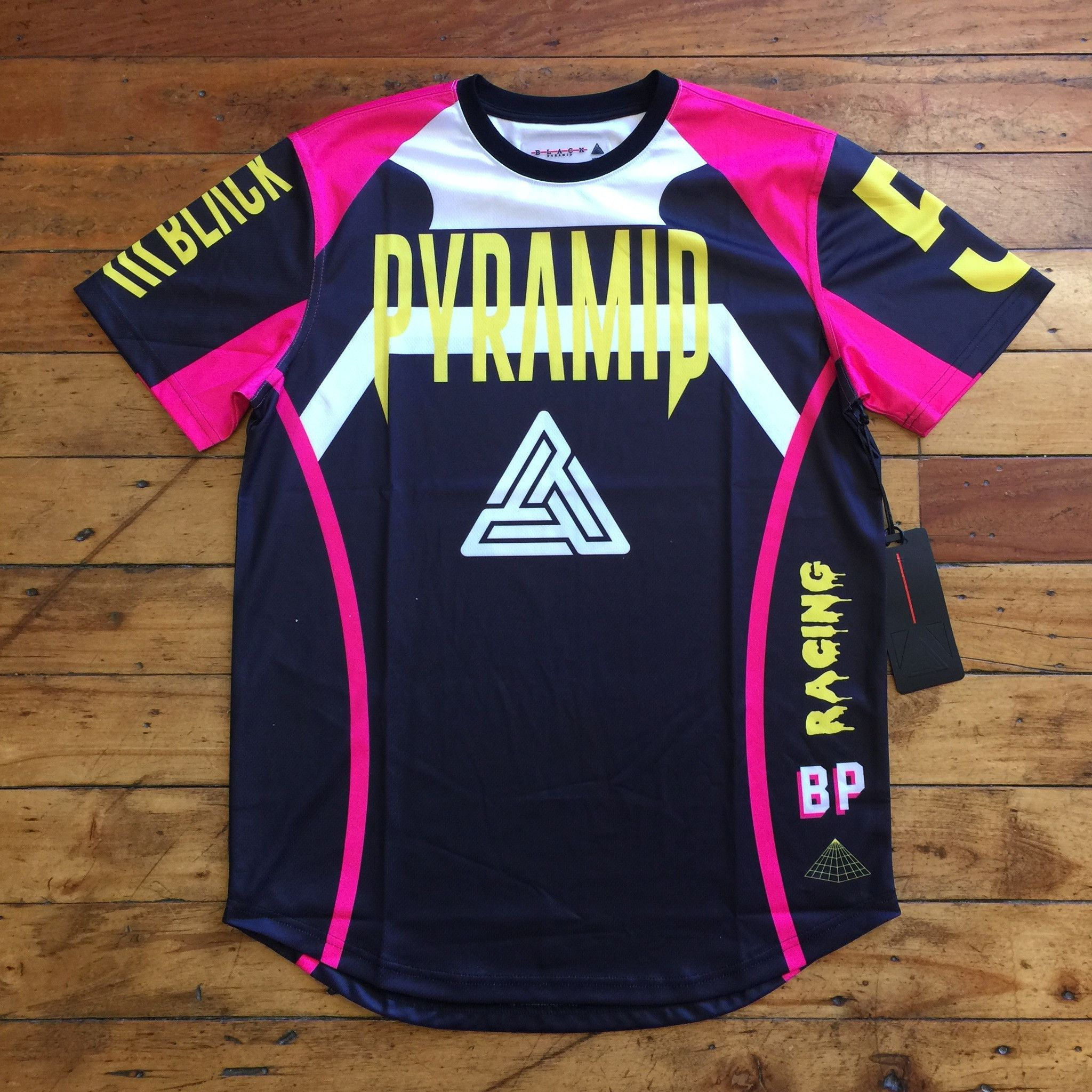 Blue apron jersey city number - Black Pyramid Racer S S Tee