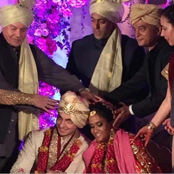 Arpita Khan Wedding Pictures Exclusive Wedding Celebrity Weddings Wedding Pictures