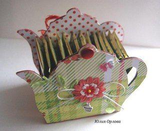 Подарки из чайных пакетиков своими руками 620