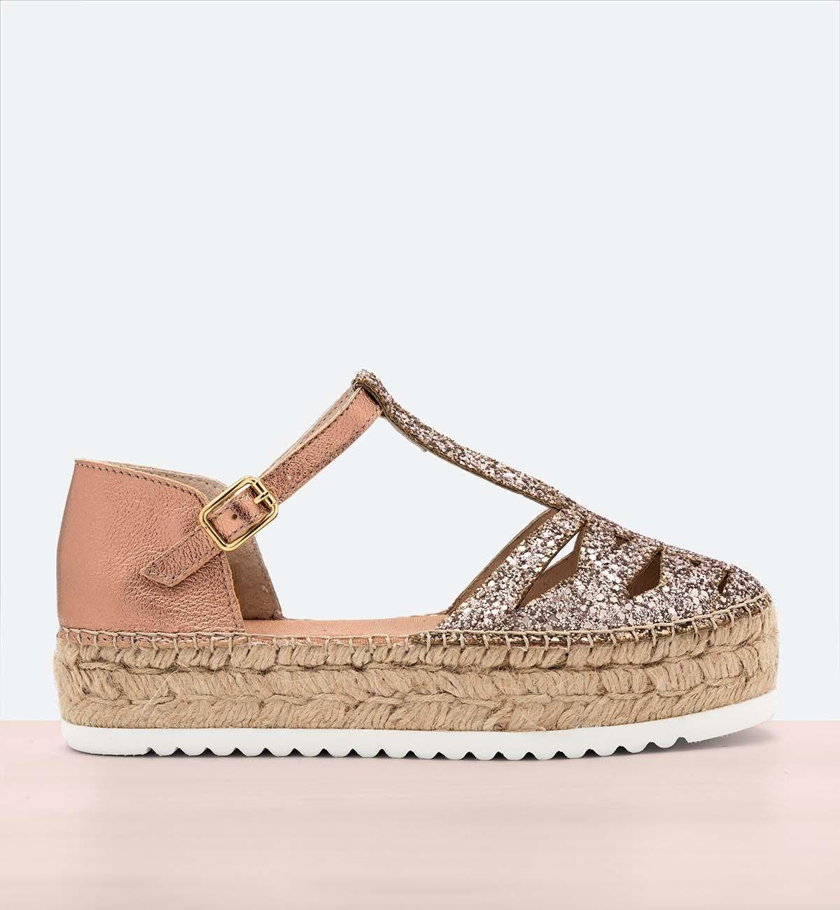 Cangrejera Glitter Zapatos De Vestir Mujer Zapatos De Chicas Zapatos Comodos Mujer