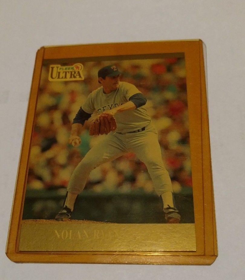 1991 fleer nolan ryan 355 baseball card texas rangers