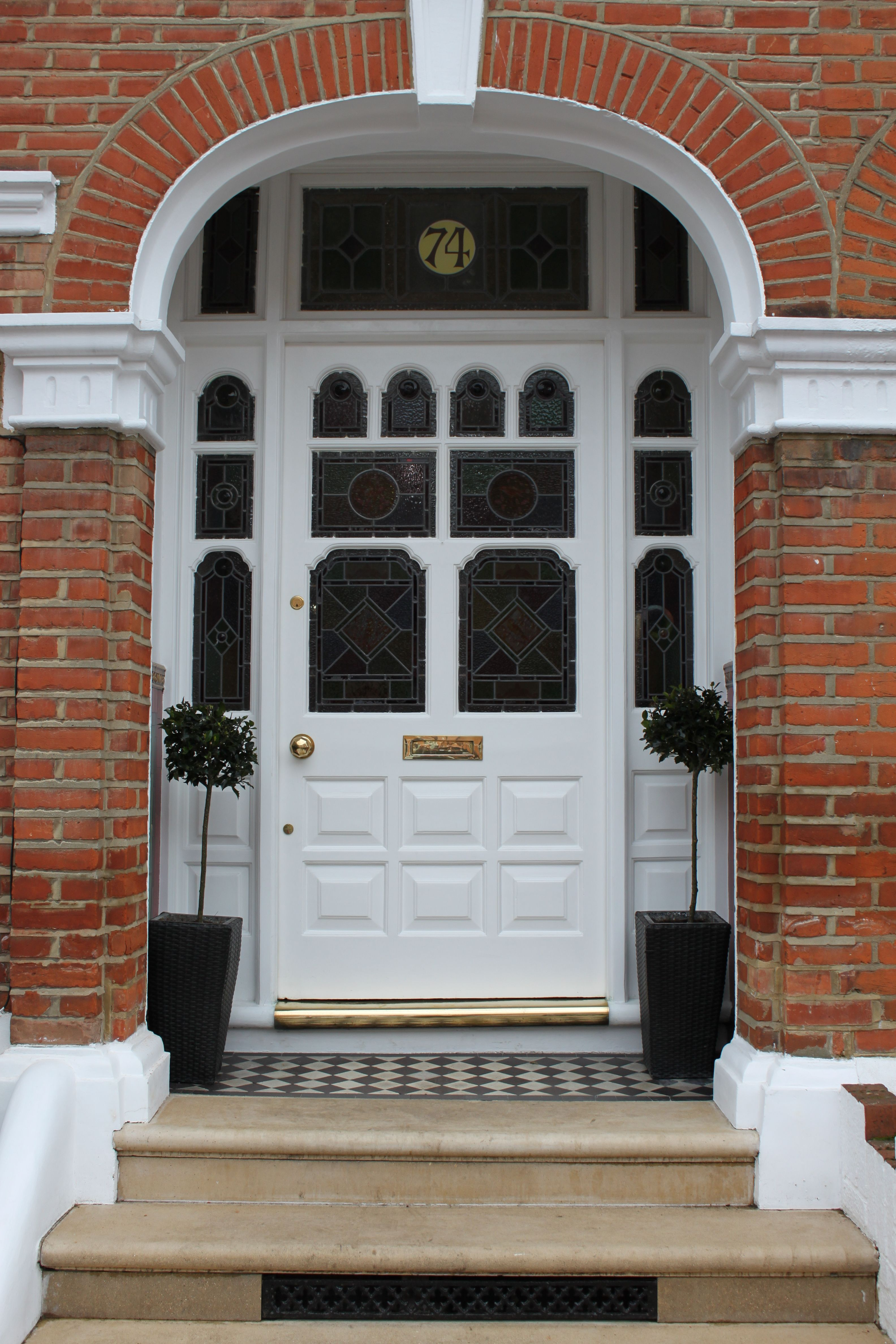 Edwardian Front Door South London | Front door | Pinterest | South ...