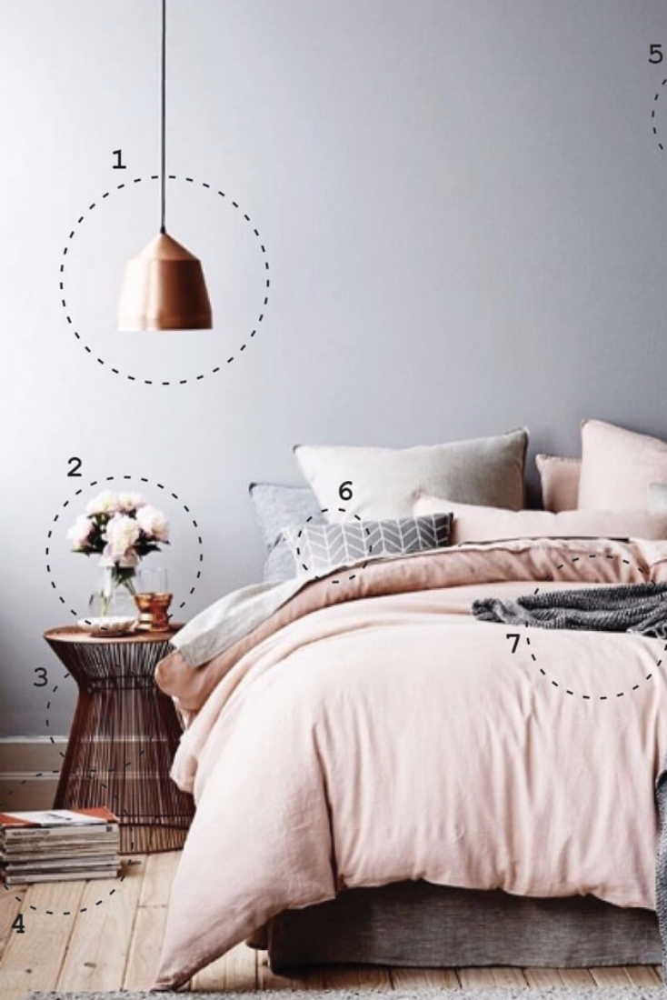 How To Design A Bedroom Inspired By Instagram