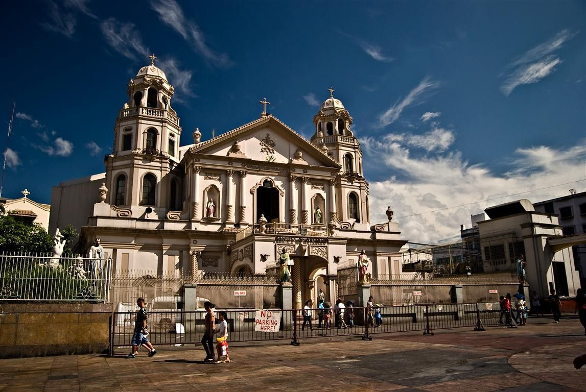 Quiapo Church Philippine Architecture House Styles Architect