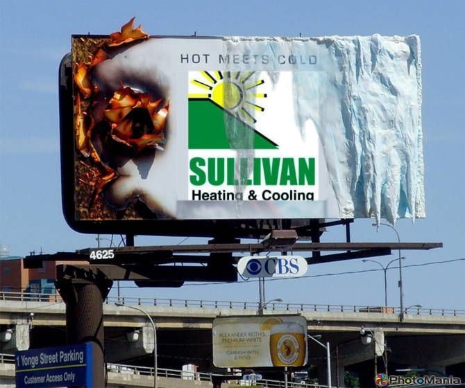 Sullivan Heating Buffalo Outdoor Advertising Wellness Design