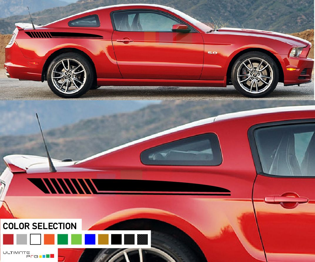 Sticker Star Decal Kit Compatible With Ford Mustang Ford Mustang Mustang Ford [ 894 x 1072 Pixel ]