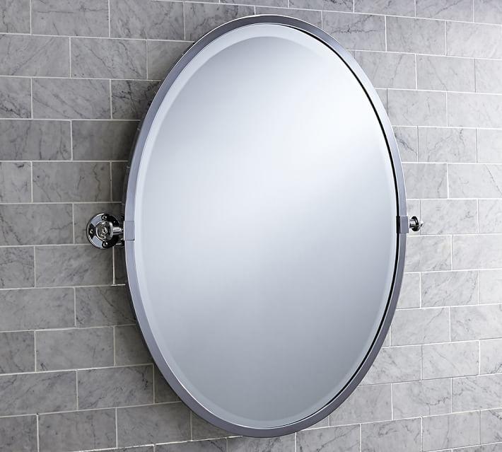 Kensington Oval Pivot Mirror In 2020 Oval Mirror Mirror