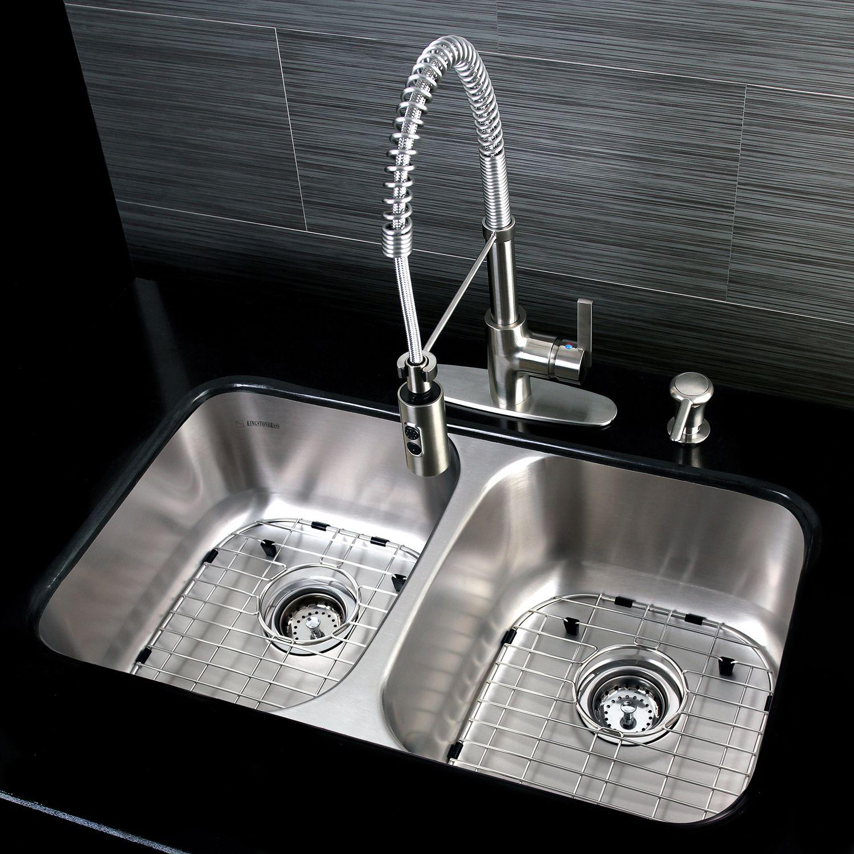 James Top 5 Kingston Brass Stainless Steel Kitchen Sinks Double