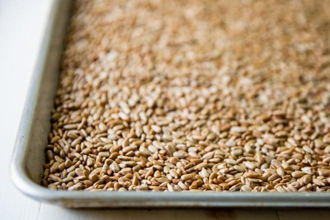 How To Roast Sunflower Seeds Culinary Hill Recipe Roasting Sunflower Seeds Food Processor Recipes Baked Roast