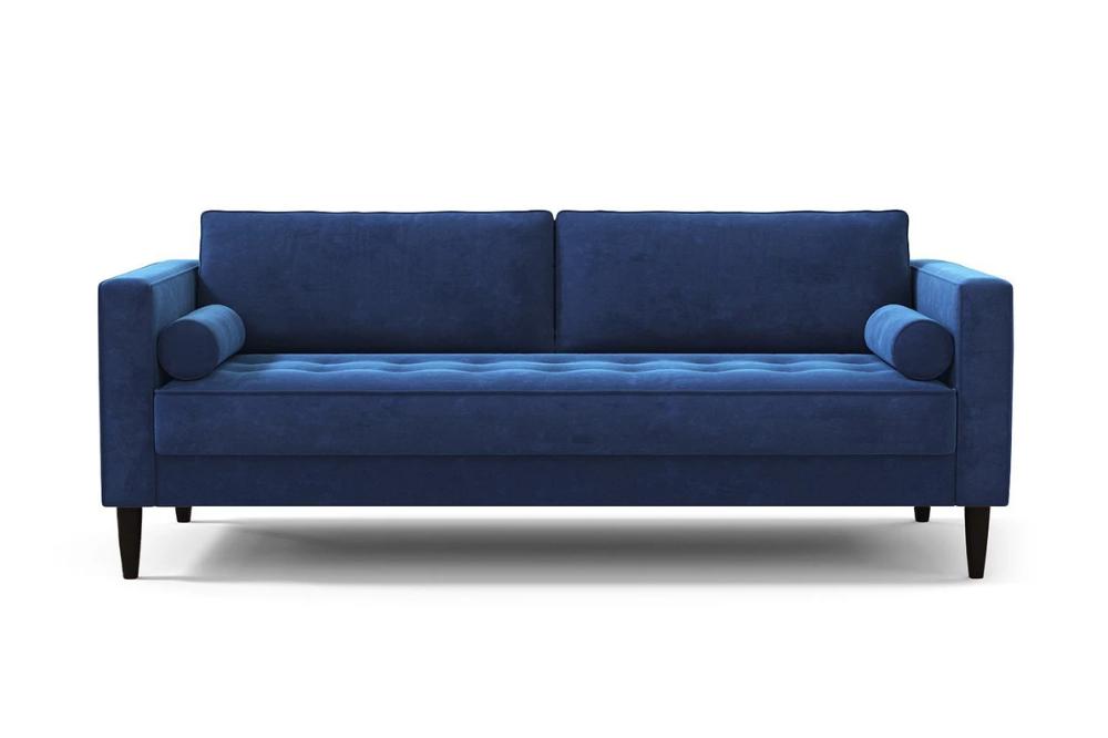Delilah Sofa Leg Finish Pecan Retro Sofa Sofa Modern Sofa