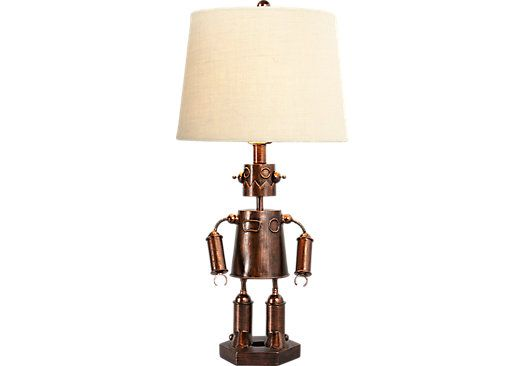 Lamps Rooms To Go Robot Of Steel Metal Lamp 99273282 Steel