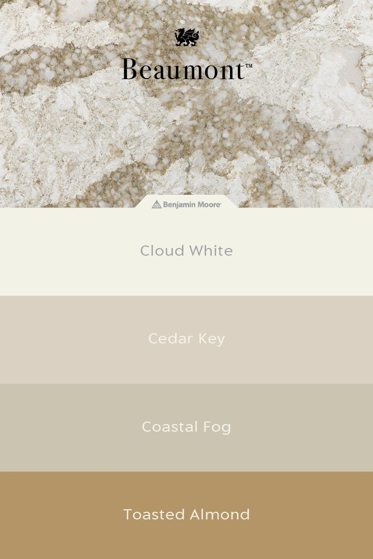 Cambria Quartz Countertops In This Design Are A Perfect Match For Gold Gray Cream And Greige Paint Colors From