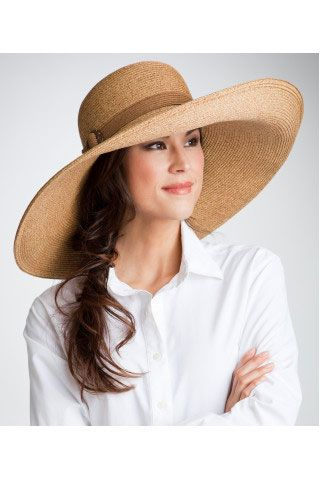 14ffe0af8 UPF 50 Monaco Wide Brim Hat ,Sun Protection Womens Hats - Coolibar ...