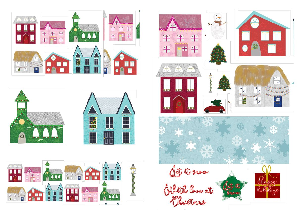 Free Christmas Printables From Papercraft Inspirations 170 Papercraft Inspirations Free Christmas Printables Christmas Printables Christmas Decoupage