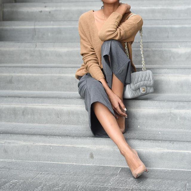 Neutral look by @thefierce_nay - Check out and follow her fashion adventures @thefierce_nay
