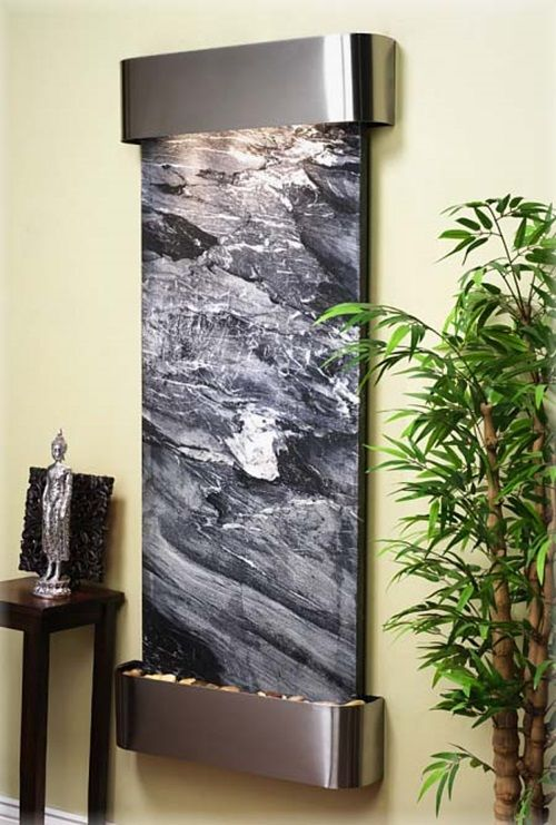 Modern Water Fountains And Waterfalls To Decorate Your Home Office
