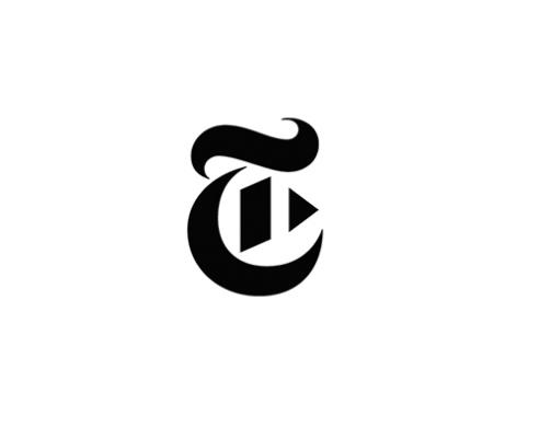 New York Times Video Logo Typography Logo Typography Branding Logo Design