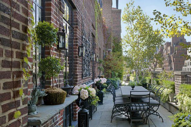 upper east side places Pinterest Petits jardins, Le toit et Dormir - Comment Faire Une Etancheite Toit Terrasse