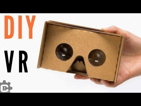 Diy How To Make Vr Headset Google Cardboard Youtube