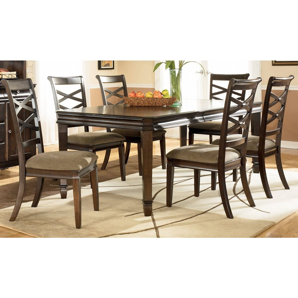 Hayley Seven Piece Dining Room Set