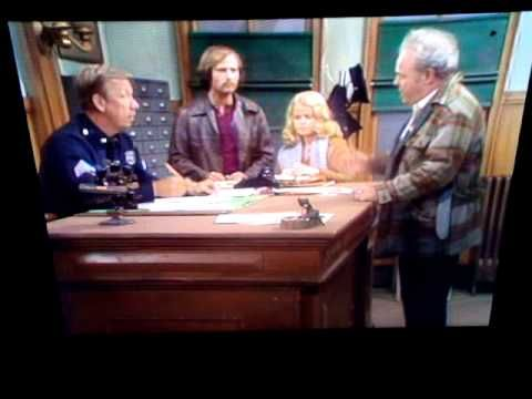 Archie Bunker and the Polish cop - YouTube | Archie Bunker