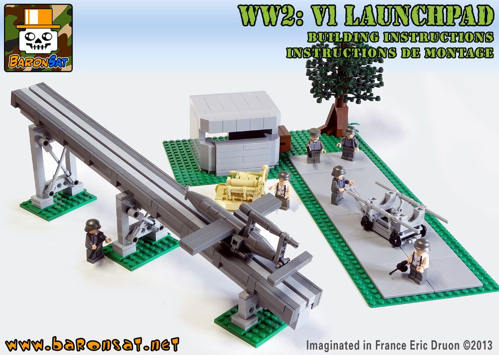 V1-GERMAN-LAUNCHPAD-COVER   Legos, Lego military and Legos