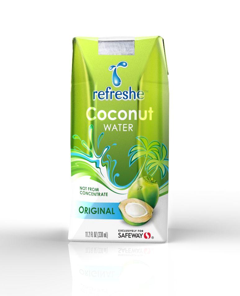 Safeway, Refreshe Coconut Water