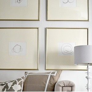 #Inspired by this look!  #interiordesign #interiors #white #gold #decor #art