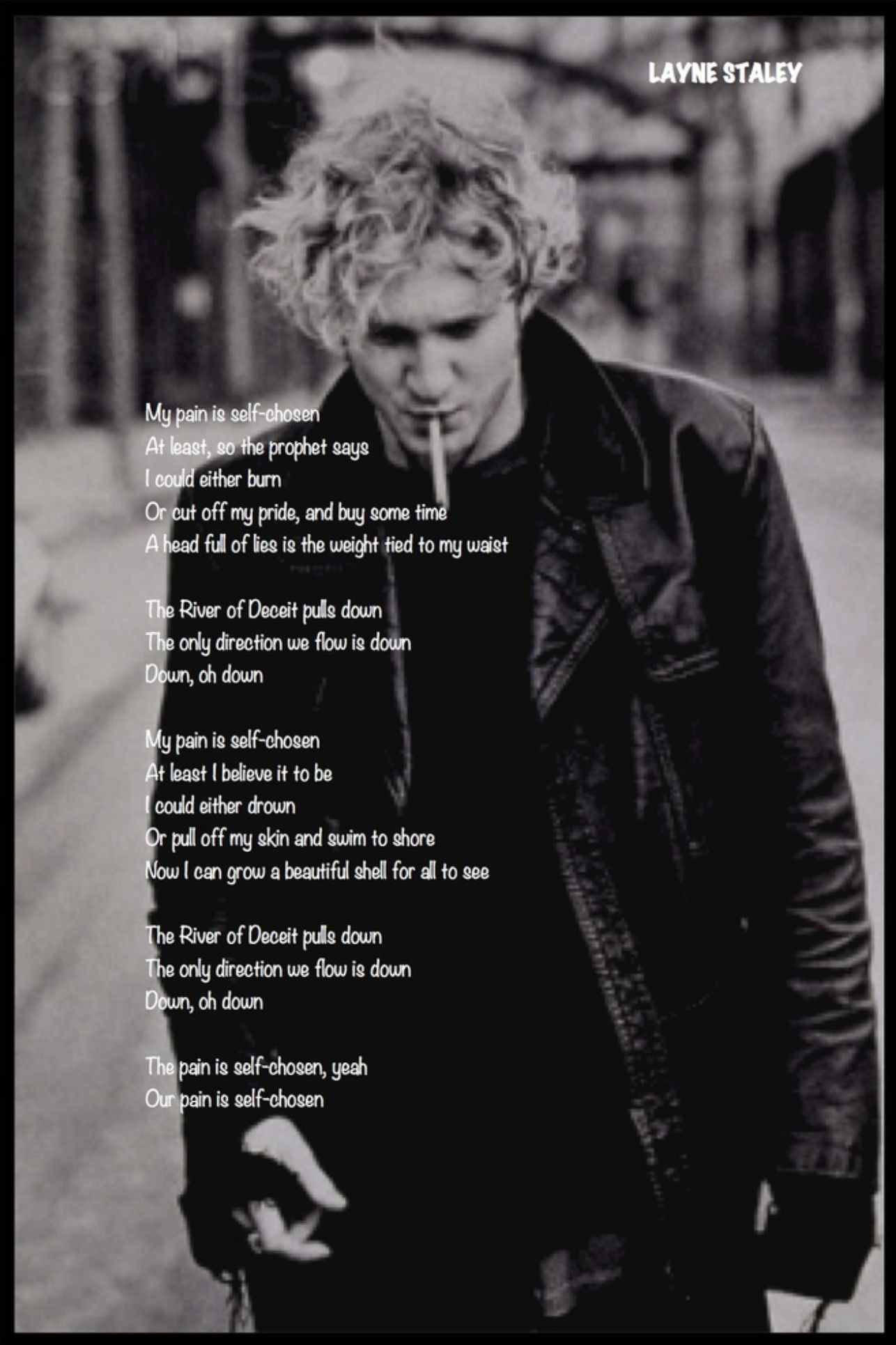 Layne Staley Aliceinchains With Images Alice In Chains