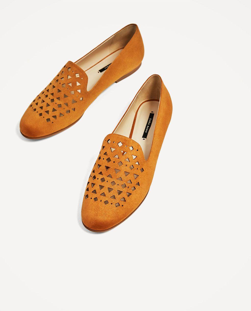 Dream 19 Plano Fashion Detalle Eur Zapato Troquelado 95 Zara tq8wnOHd