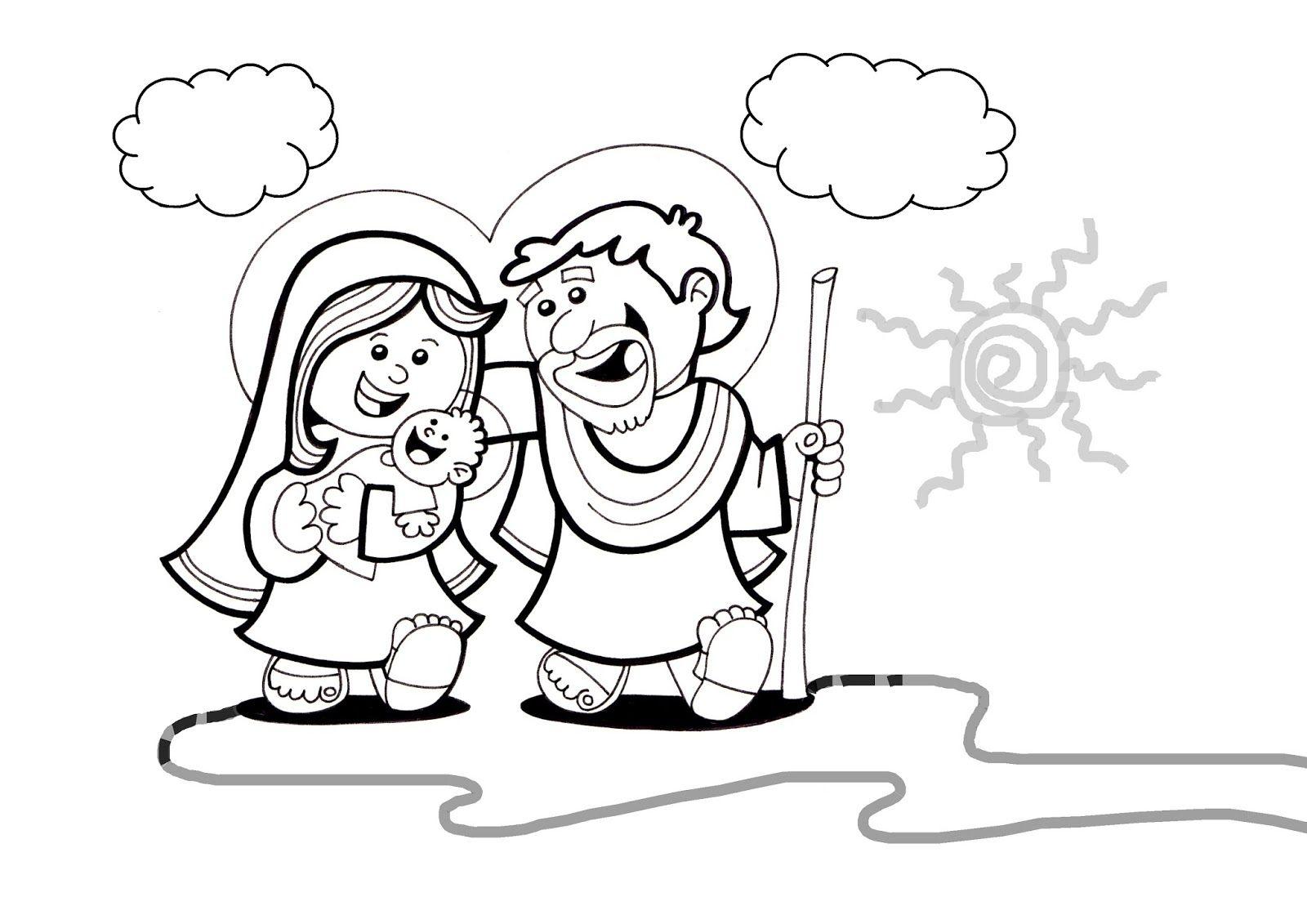 Lujoso Natividad Hojas Para Colorear Modelo - Dibujos Para Colorear ...