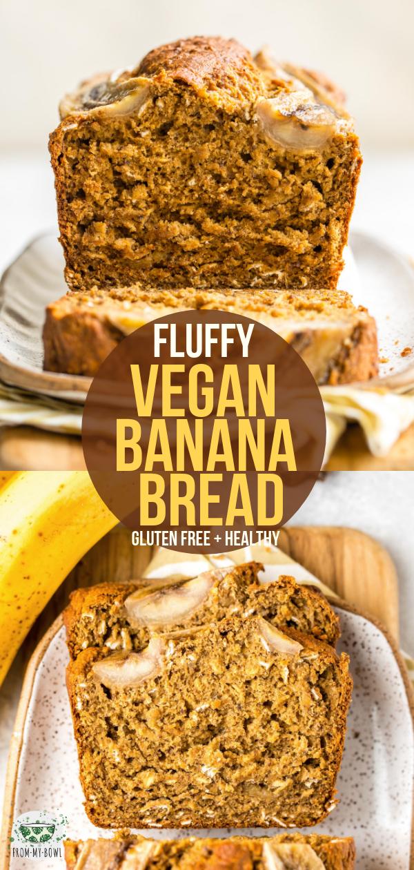 Photo of Flauschiges veganes Bananenbrot (glutenfrei, 9 Zutaten!) – aus meiner Schüssel