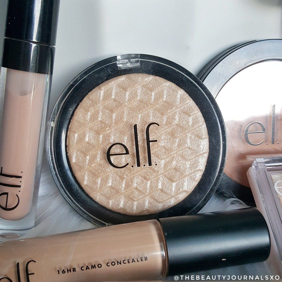 ELF Metallic Flare Highlighter in White Gold ELF Makeup