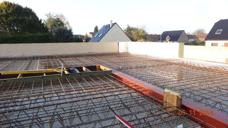 Dalle RDC - Construction du0027une maison passive avec le système